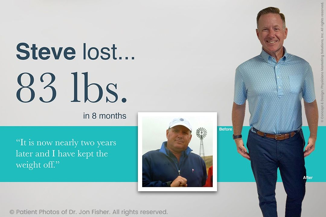 Lost 83 lbs in 8 months